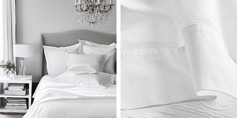 Buy Seville Bed Linen Collection from The White Company
