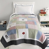 Buy Sports Single Quilt from The White Company