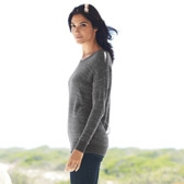 Buy Sequin Stripe Sweater - Eclipse grey from The White Company