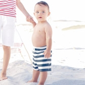 Buy Baby Swim Shorts from The White Company