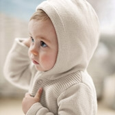 Buy Textured Hooded Cardigan from The White Company