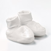 Buy Essentials Jersey Booties from The White Company