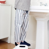 Buy Toby Stripe Pyjama Bottoms from The White Company