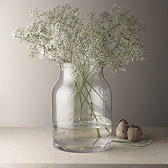 Buy Pablo Glass Vase - Large from The White Company