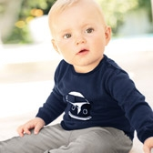 Buy Baby Campervan Sweater from The White Company