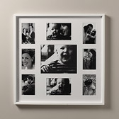Buy Wooden Photo Frame 9 Aperture - White from The White Company