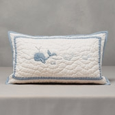 Buy Whales Cushion Cover from The White Company