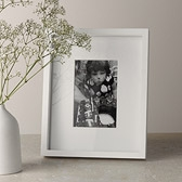 Buy Wooden Photo Frame 4x6 - White from The White Company