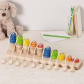 Buy Wooden Rope Abacus from The White Company