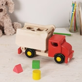 Buy Shape Sorter Tipper Truck from The White Company