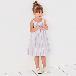 Sparkle Stripe Dress (1-6yrs)
