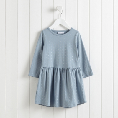 Sparkle Spot Jersey Dress (1-6yrs)