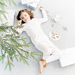 Girls' Spot Print Pyjamas
