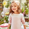 Striped Sparkle Knitted Dress (1-5yrs)
