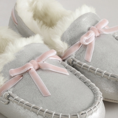 Sparkle Moccasin Slippers