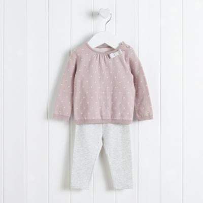 Spotty Sweater & Leggings Set