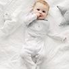 Snowy Penguin Sleepsuit