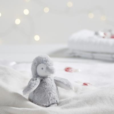 Snowy Penguin Mini Toy - The White Company