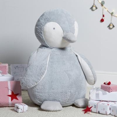 Giant Snowy Penguin