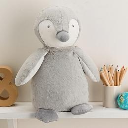 Large Snowy Penguin