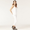Sequin Vest - Winter White