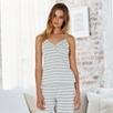 Stripe Ruffle Cami