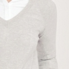 Shoulder Rib Detail Sweater