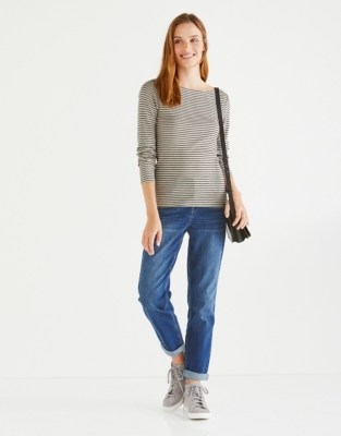 Fine Stripe Layering Top