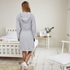 Stripe Woven Trim Robe