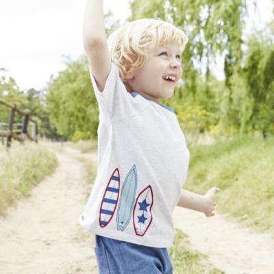 Surfboard Motif T-Shirt (1-5yrs)