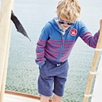 Surf School Striped Hoodie (4-10yrs)