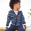Striped Knit Hoodie (2-6yrs)