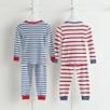 Snug Fit Mixed Stripe Pajamas 2 Pack