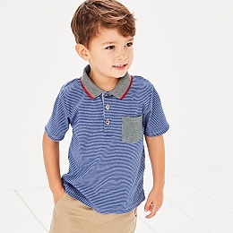 Stripe Polo T-Shirt (1-6yrs)