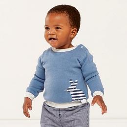Stripe Bunny Sweater