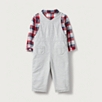 Shirt & Dungaree Set