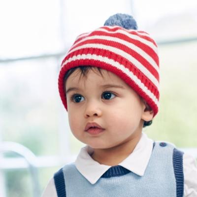 Stripe Rib Hat
