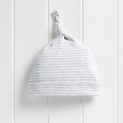 Stripe Knot Hat