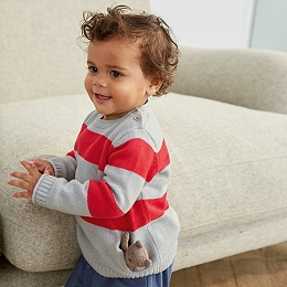Stripe Jumper & Toy Set
