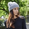 Seed Stitch Bobble Hat