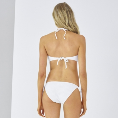 Seersucker Bikini Top