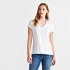 Jersey Short Sleeve Shirt - White