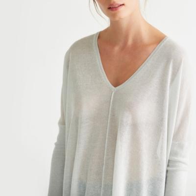 Sparkle Side Split Sweater