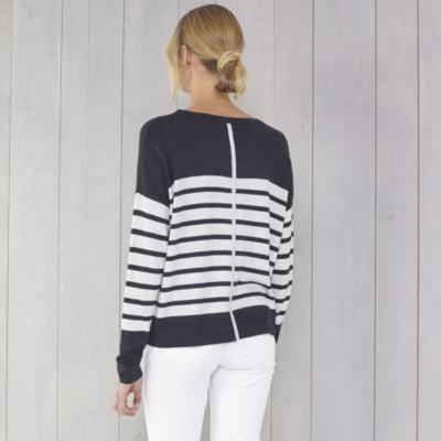 Slouchy Stripe Sweater