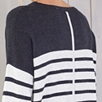Slouchy Stripe Sweater