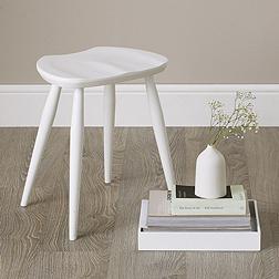 Ercol Windsor Stool - White
