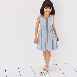 Stripe Summer Dress (1-6yrs)