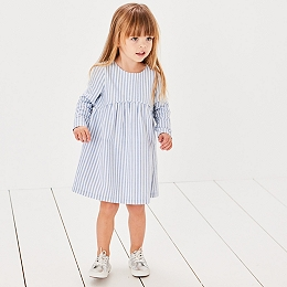 Stripe Woven Dress (1-6yrs)