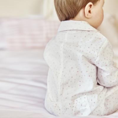 Scatter Spot Flannel Sleepsuit