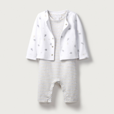 Sleepsuit & Jacket Set